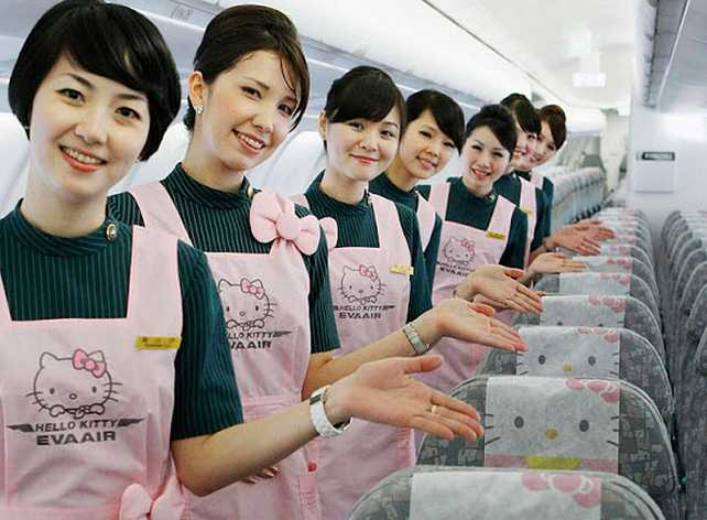 Eva Air S Hello Kitty Planes To Land In Us This