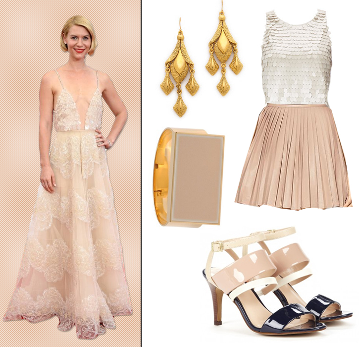 From Red Carpet to Ready-to-Wear:  Claire Danes in Armani Privé