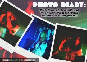 Photo Diary: Chelsea Wolfe And True Widow LIVE At The Rock & Roll Hotel In Washington D C