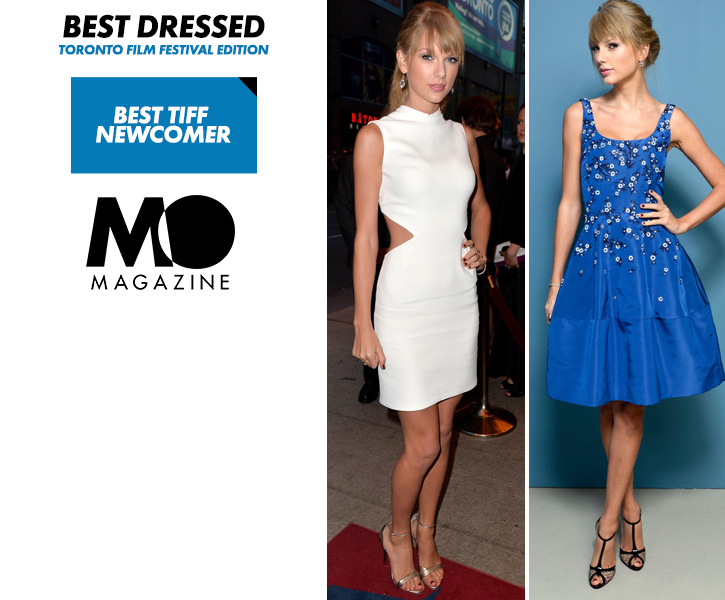Taylor Swift in Oscar de la Renta & Calvin Klein Collection - One Chance