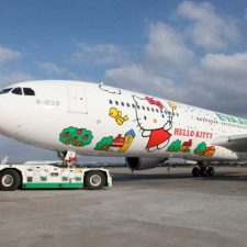 EVA Air's Hello Kitty Planes to Land in US This September