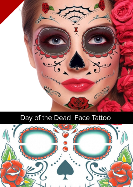 Easy halloween beauty 5 no fuss ideas to show your for Halloween makeup tattoos