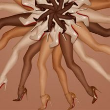 "5 Shades of Nude: Louboutin Redefines Color With ""Les Nudes"" Collection"