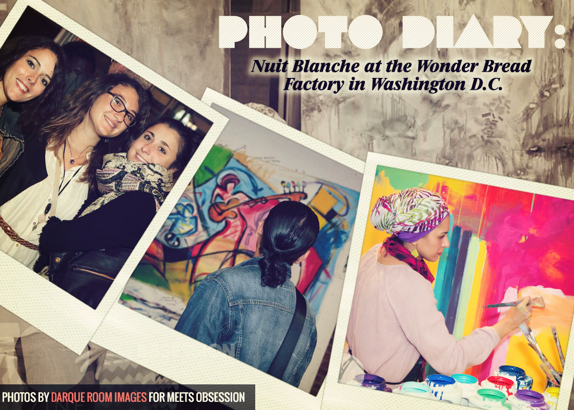 Photo Diary Nuit Blanche At The Wonder Bread Factory In Washington D C