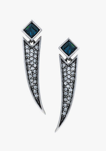Richard Chai X Jewel Mint Comet Earrings