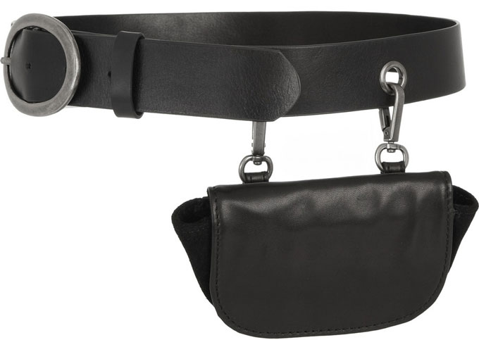 Leather Belt Bag from the Capitol Couture Collection