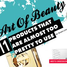 The Art Issue: The Art of Beauty – 11 Products That Are Almost Too Pretty to Use