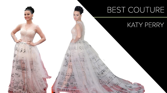 Best Couture Katy Perry 2014 Grammy Awards