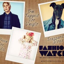 Fashion Watch: Preen for Kids, Trussardi's Fashion Dogs, Dakota Fanning and Tom Odell Tapped by Uniqlo