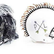 Football Goes Fierce: CFDA, NFL and Bloomingdale's Team Up on Custom Helmets