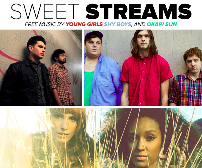 Sweet Steams Music By Young Girls,Shy Boys, And Okapi Sun