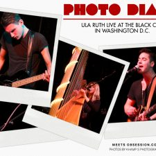 Photo Diary: Ula Ruth LIVE at the Black Cat in Washington D.C.