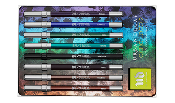 Urban Decay Ocho Loco 2/24 /7 Glide On EyePencil Set