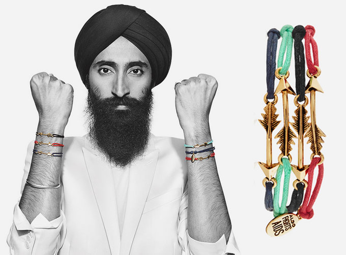 Waris Ahluwalia and ALDO Team Up to Fight Against AIDS