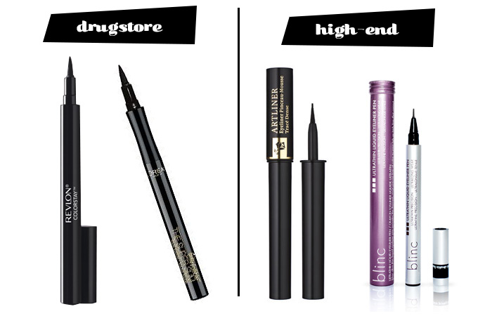Drugstore Vs High End Eyeliner