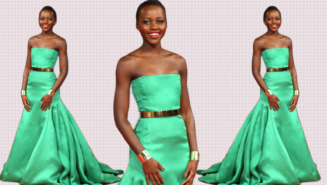Lupita Nyong'o In Christian Dior Couture