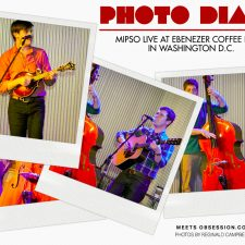Photo Diary: Mipso LIVE at Ebenezer's Coffeehouse in Washington D.C.