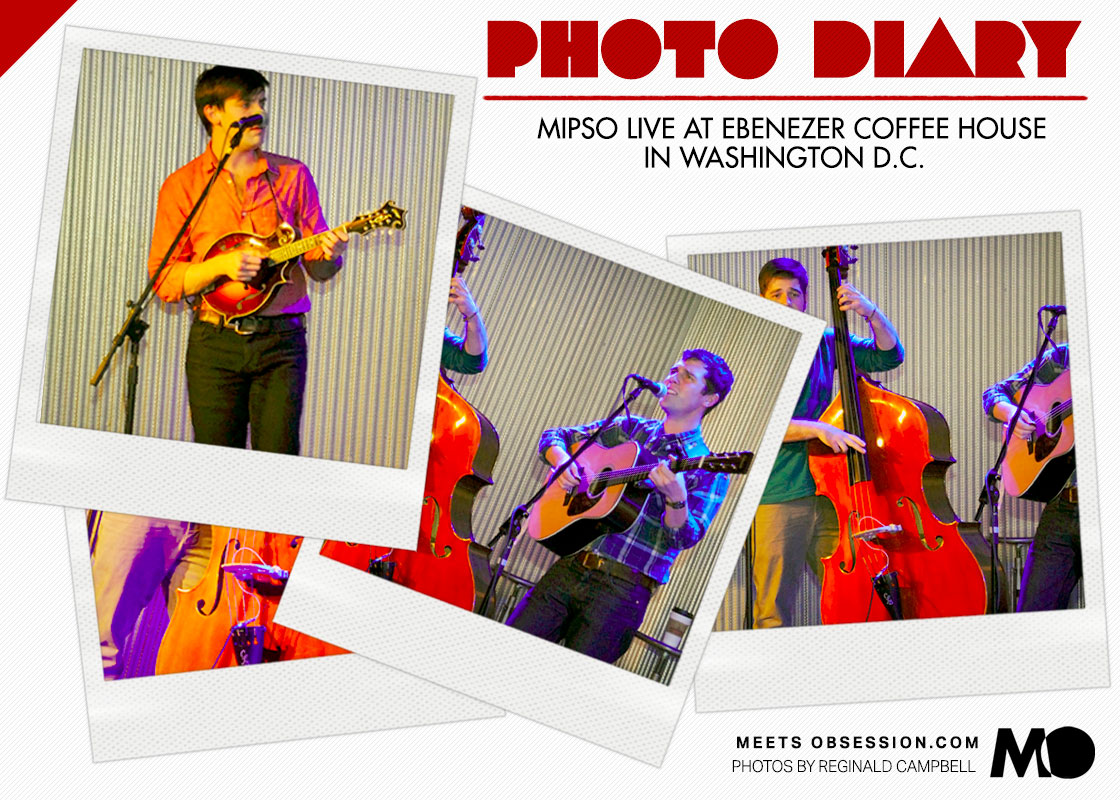 Photo Diary: Mipso Live At Ebenezer Coffee House