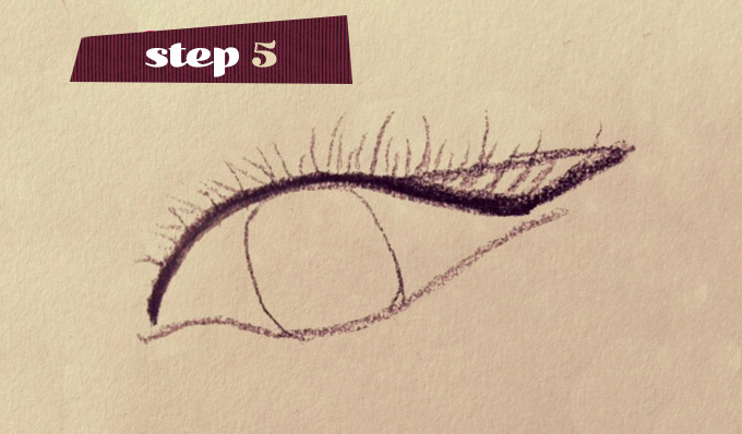 Step 5 Purrfect Cateye