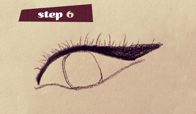 Step 6 Purrfect Cateye