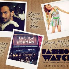 Fashion Watch: Topshop to Open in DC, Major Changes for Marc Jacobs, J. Crew x Mara Hoffman