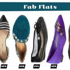 Five Under Fifty: Fab Flats