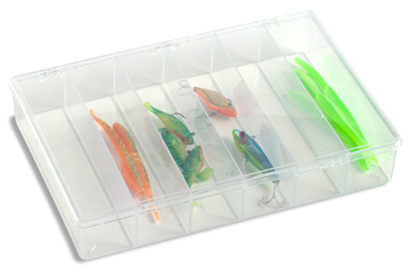 6-Compartment Unbreakable Box from The Container Store, $18