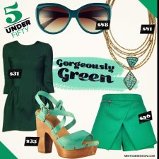 Five Under Fifty: Gorgeously Green