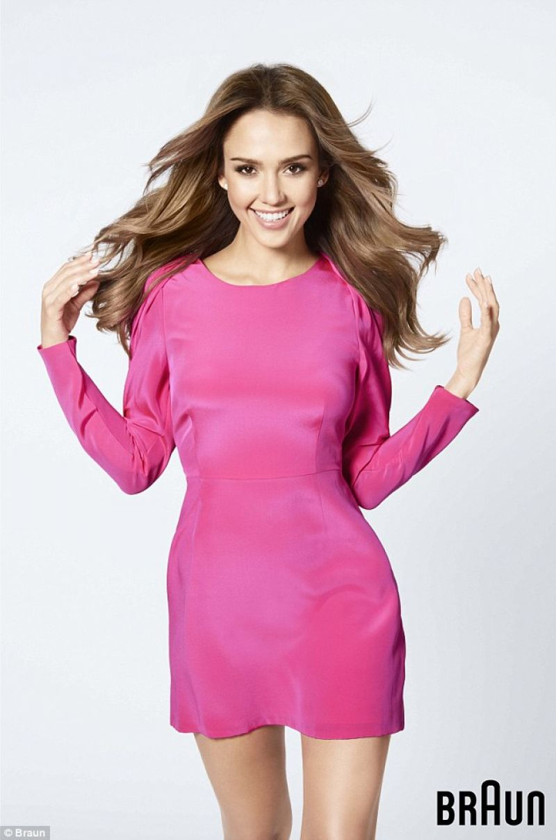 Jessica Alba For Braun