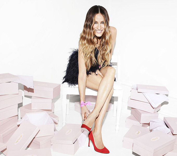Launches In Sarah Jessica Parker's Shoes, Quite Literally