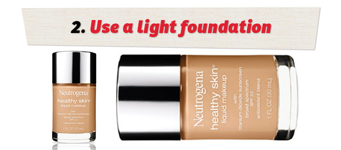 Neutrogena's Healthy Skin Liquid Makeup