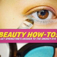 Beauty How-to:  Get Spring's Answer to the Smokey Eye