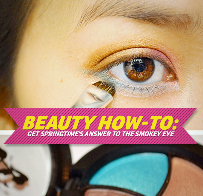 Spring's Answer To The Smokey Eye