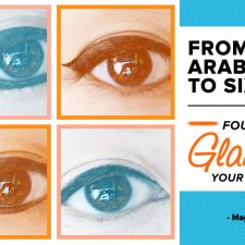 From Arabian to Sixties: Four Ways to Glam Up Your Eyeliner Style