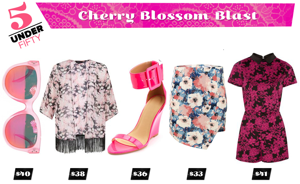 5 Under Fifty: Cherry Blossom Blastt