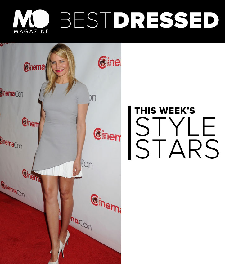 Cameron Diaz (and Her Crazy Toned Legs) Nabs This Week's Best Dressed Title