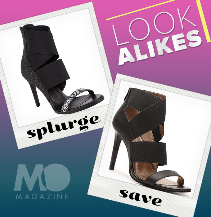 Look Alikes Statement Heels