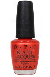 OPI Mlb Fashion Nail Lacquer, Plate Orange You Going To The Game