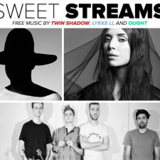 Sweet Streams: Music by Twin Shadow, Lykke Li, and Ought