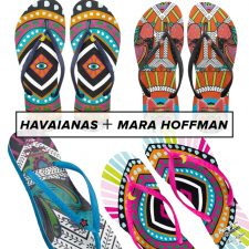 We're Flipping Over These Havaianas x Mara Hoffman Flip Flops
