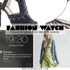 Fashion Watch: Yet Another Terry Richardson Scandal, Betsey Johnson x Urban Outfitters, Sophia Webster & J. Crew Make Sweet Shoe Magic