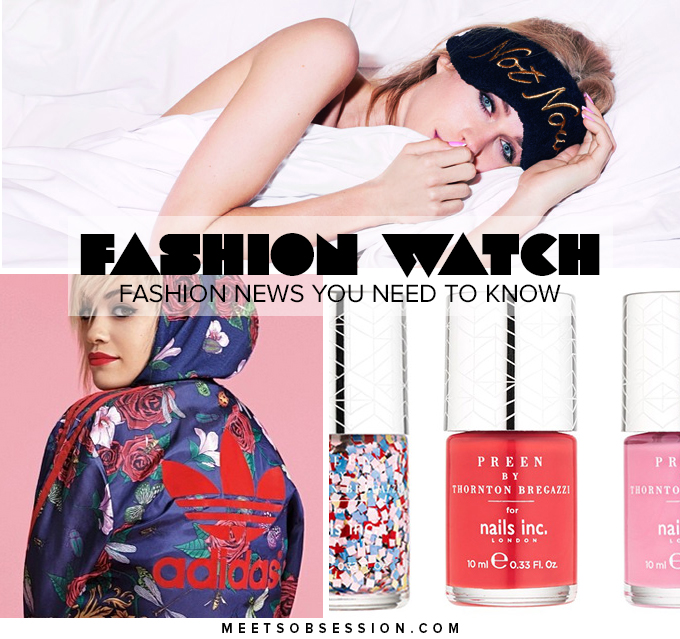 Fashion Watch Preen Does Nail Polish, Martin Margiela For The Home, Ashish X Topshop Is Here