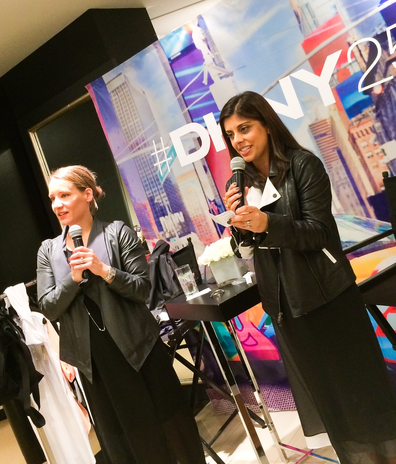 On Saturday, May 10th, Style Expert, Naina Singla, co-hosted a special DKNY 25th Anniversary fashion show at Bloomingdales Tysons Corner