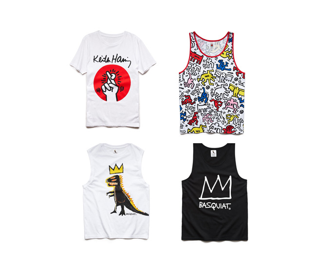 Works Of Keith Haring & Jean Michel Basquiat The Focus Of New Forever 21 Collection
