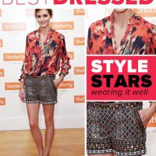 Best Dressed: Olivia Palermo Masters Mixing Prints and Shows Us How to Rock Bridal Wear