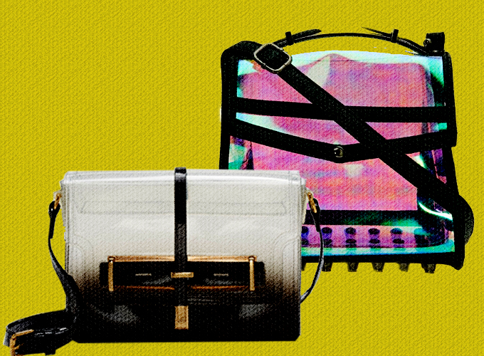 Clear Cut Clutches And Other Transparent Bags For Under $100