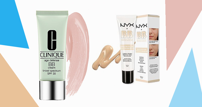 Clinique Age Defense BB Cream And NYX BB Cream