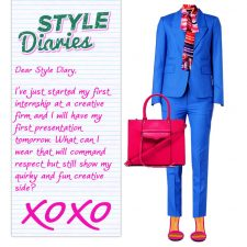 Style Diaries: Creative At Work Style