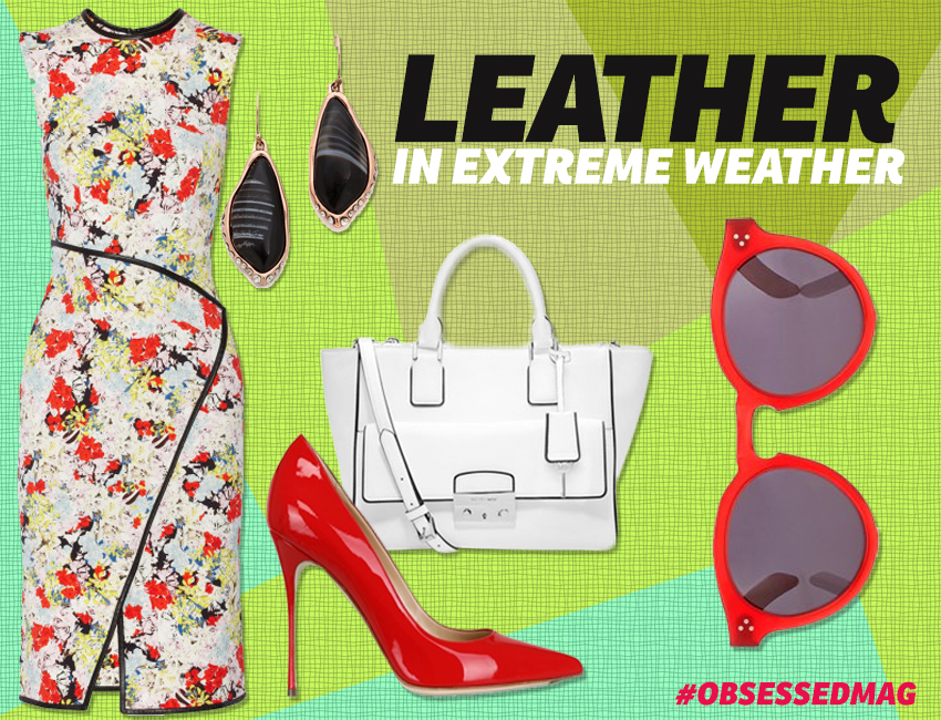 Leather In Extreme Weather Look 2