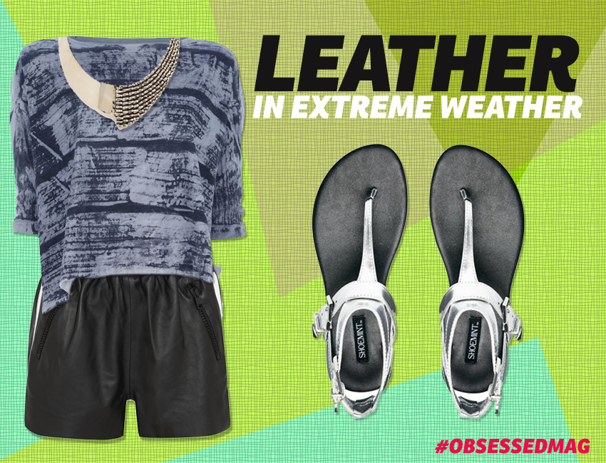 Leather In Extreme Weather Look 3